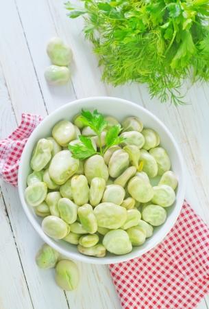 raw beans Stock Photo - 22838291