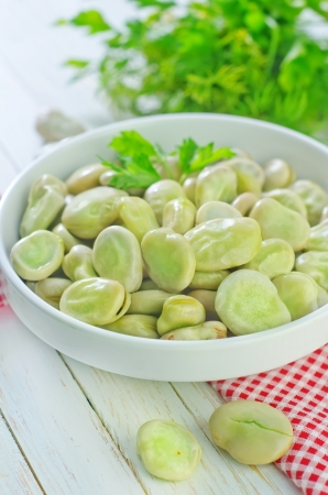 raw beans Stock Photo - 22838293