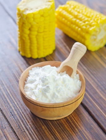 starch: corn starch Stock Photo