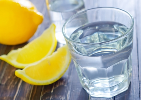 longdrink: water with lemon