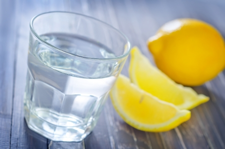 ure: water with lemon