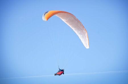 parapente: paraglider