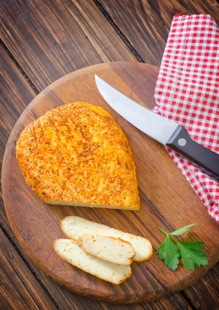 artisanal: baked cheese