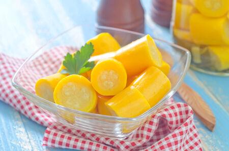 marrow: pickled marrow Stock Photo