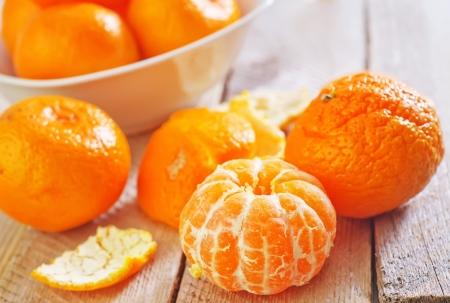 Mandarinen Standard-Bild - 24262267