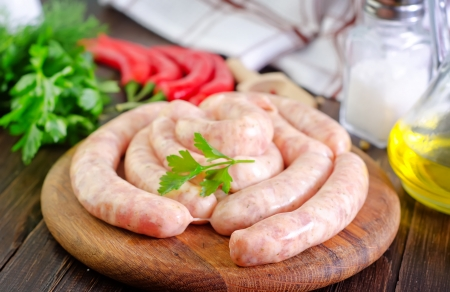 sausages photo