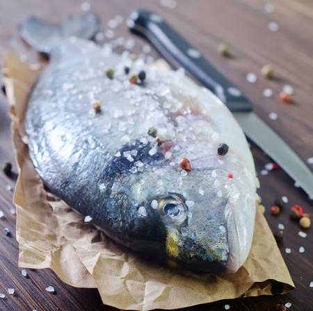 european roach: raw fish