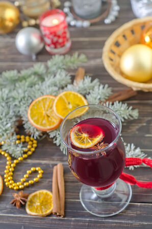 mulled wine photo