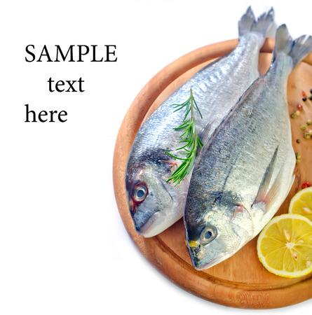 the dorada: raw fish