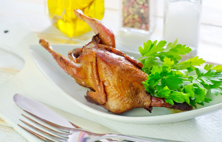baked quail photo
