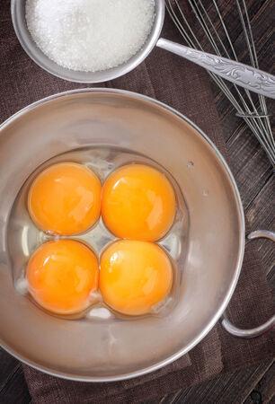 yolks and sugar photo