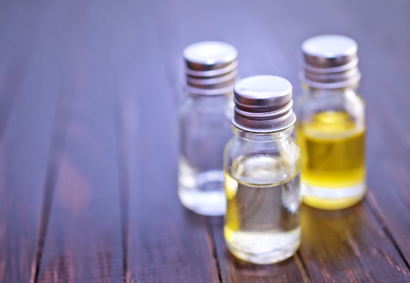 essential oil: aroma oil Stock Photo