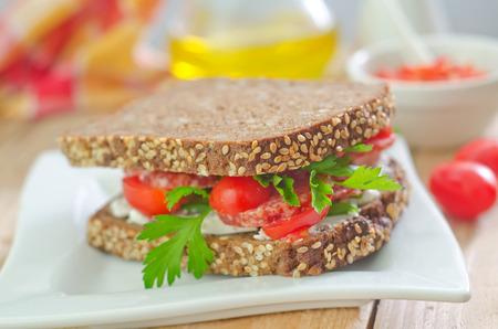 doubledecker: sandwich