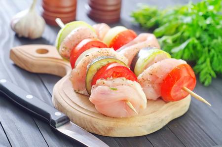 raw kebab photo