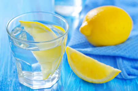 ure: water with lemons