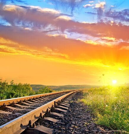 sun track: railroad