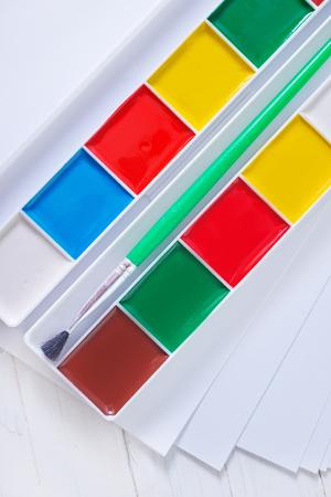 color paint: vernice di colore Archivio Fotografico
