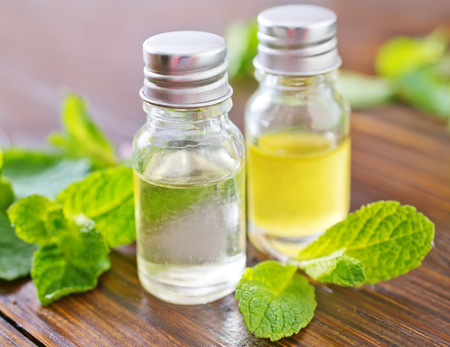 mint oil photo