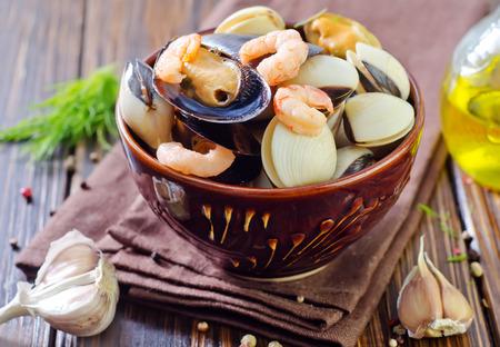 marisco: seafood Stock Photo