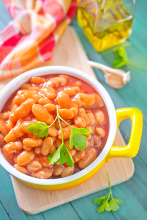 lima beans white beans: beans with tomato sauce