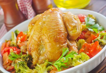 baked chicken: baked chicken