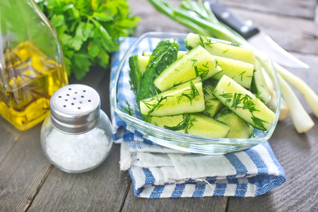 cucumber salad Stock Photo - 28786686