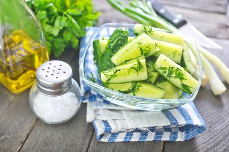 cucumber salad Stock Photo - 28786686