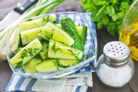 cucumber salad Stock Photo - 28806163