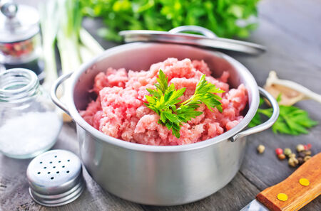 minced meat photo