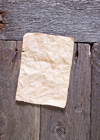 note paper: old paper for note