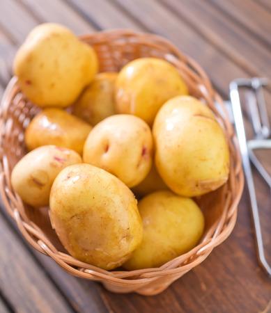 fingerling: raw potato
