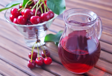 cherry juice Imagens