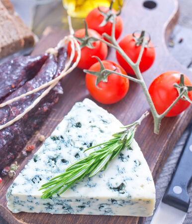cheese and sausage photo