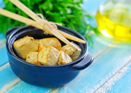 fried tofu photo
