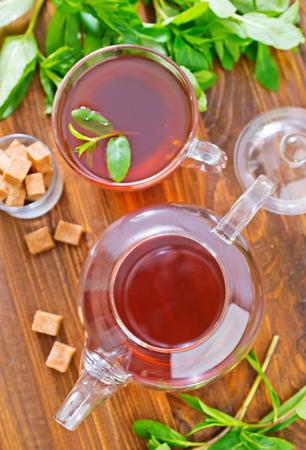 mint tea photo