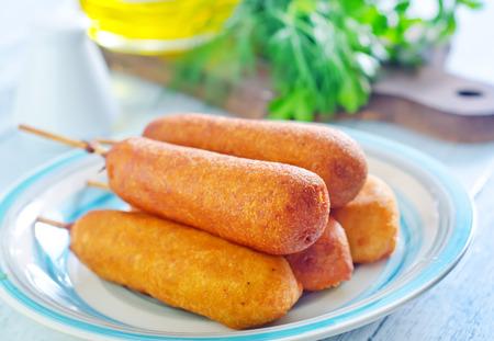 chomp: corndogs
