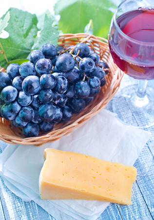 cheese and grape photo