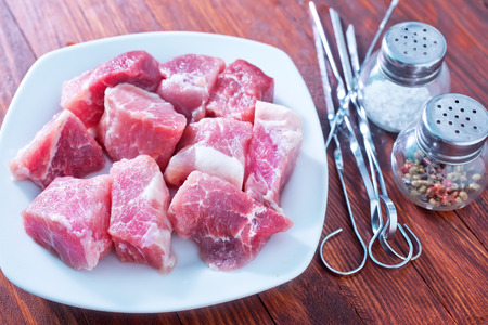 raw meat photo