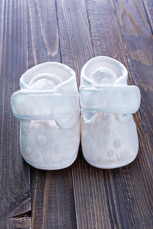 Little baby shoes photo