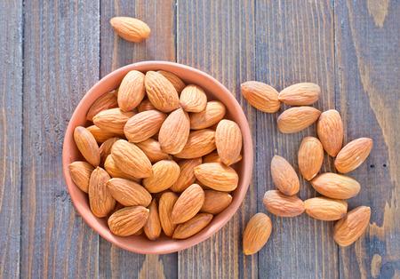almond nuta Stock fotó