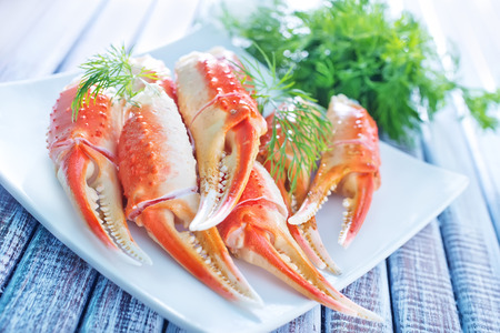 cangrejo: pinzas de cangrejo
