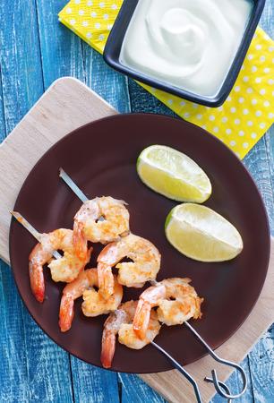 fried shrimps photo