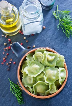 ravioli: ravioli Stock Photo