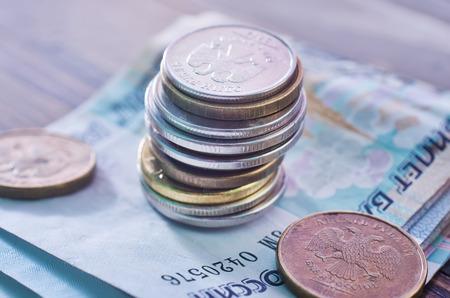 fan shaped: russian money