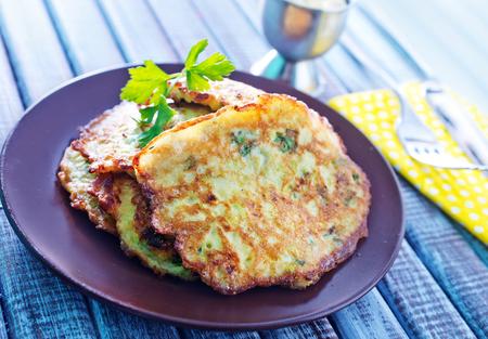 marrow: marrow pancakes