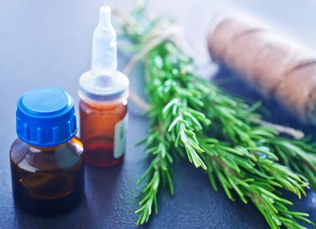 rosemary oil photo