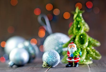 fondo para tarjetas: decoraci�n de navidad en una mesa, decoraci�n para el �rbol de navidad