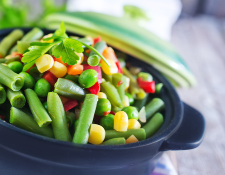 mix vegetables in bowl photo