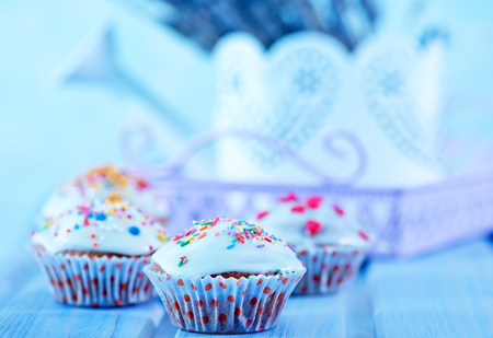 cup cakes on the table