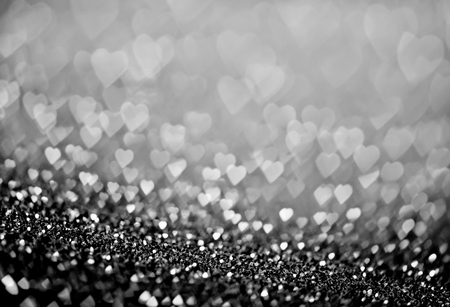 valentinas: heart bokeh, colored bokeh, christmas and valentinas day background Stock Photo